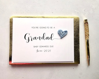 You're going to be a Grandad card - Pregnancy announcement