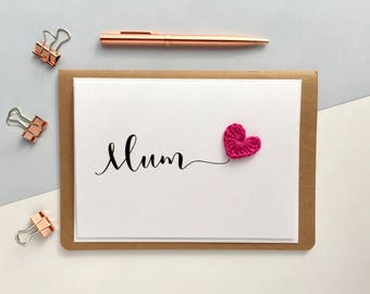 Mother's Day Card - Card for Mom - Birthday Card for Mum  - Card for Mam - Ma -  Card for Mum - Card for Nan - Card for Mummy