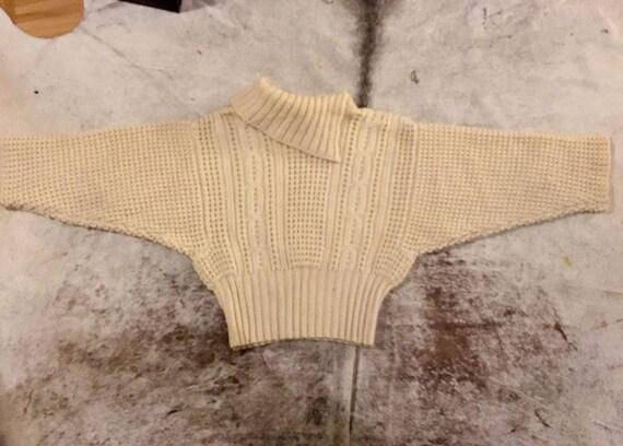 Perfect cosy knit Aran wool jumper/ sweater - image 5
