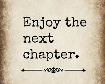 The Next Chapter >> Next Chapter Etsy