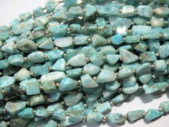 30Pcs Facted Natural Green Opal Gemstone Beads Loose Bead Jewelry Findings 7Size