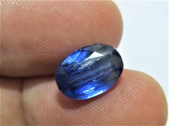 41.00 Cts Natural Kyanite Cabochon Loose Gemstone 45X10.5X5.7mm 09