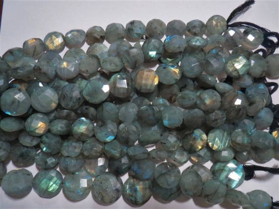 5 Strds Natural Fire Agate Stone Beads Round Faceted Loose Beads Light Blue 8mm
