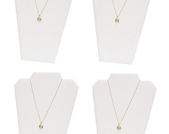 Flocked Necklace Easel with Slots DCH1641 Pkg of 3