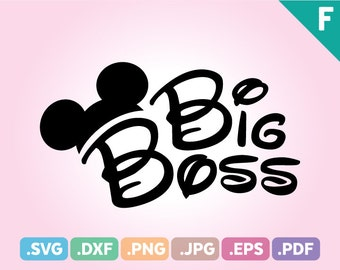 Little Brother Mouse Ears Cut File Big Brother Quotes Svg Etsy