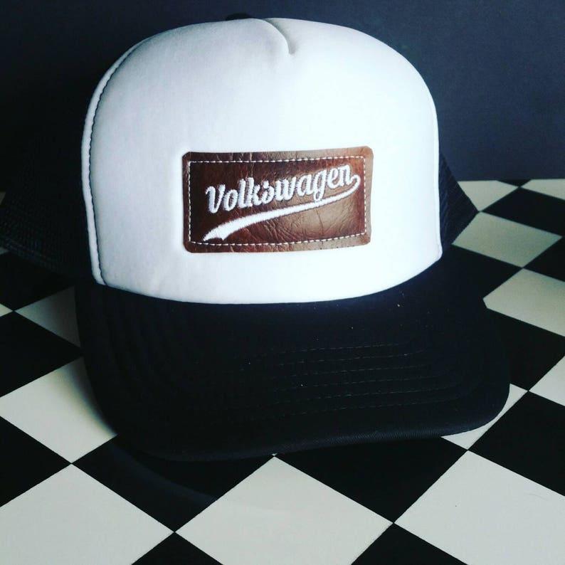 Volkswagen Trucker cap. This trucker cap has an embroidered  043f6f65d33d