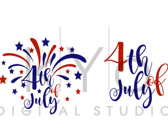 4th of July svg Fireworks svg Fourth of July svg Independence Day Patriotic SVG files for Cricut Explore Silhouette Cameo Brother Scan N Cut