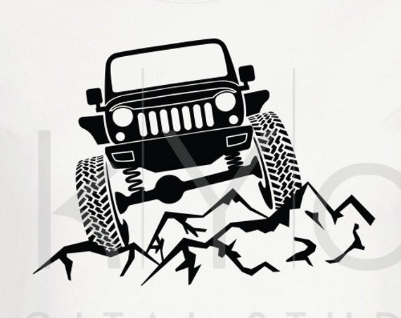 Jeep Wrangler svg Raised Off road 4x4 jeep svg Explore svg Jeep off road Adventure shirt design svg files for Cricut Silhouette cut files