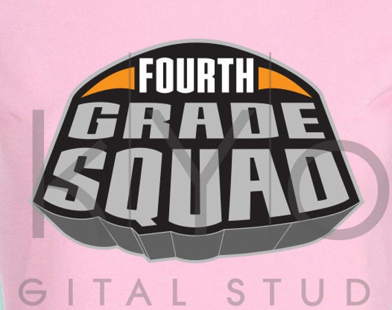 Marvel Superheroes Fourth grade squad svg png dxf eps files for Cricut and Silhouette