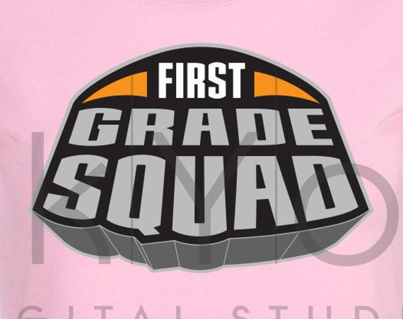 Marvel Superheroes First grade squad svg png dxf eps files for Cricut and Silhouette