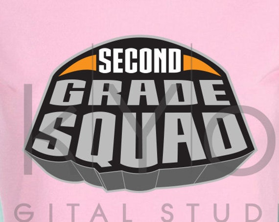 Marvel Superheroes Second grade squad svg png dxf eps files for Cricut and Silhouette