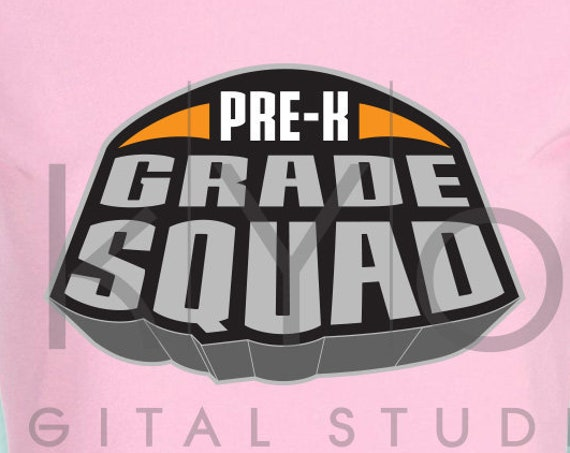 Marvel Superheroes Pre-K grade squad svg png dxf eps files for Cricut and Silhouette