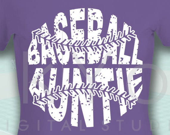 Baseball SVG, Baseball Auntie SVG, Stitches svg, distressed baseball svg studio3 png grunge baseball svg, htv design svg Baseball tshirt svg