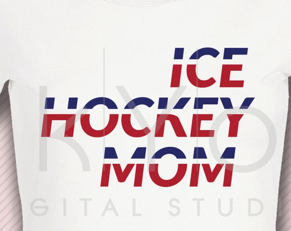 Ice Hockey MOM svg Ice Hockey svg Hockey girl svg Hockey mom shirt svg Hockey puck svg Proud mom svg files for Cricut Silhouette dxf files
