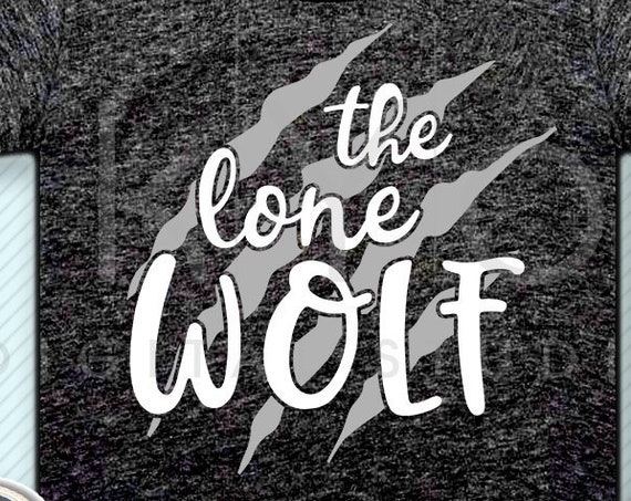 The Lone Wolf svg Claw scratch svg cut files for Cricut and Silhouette tshirt design iron on svg png studio3 commercial use svg