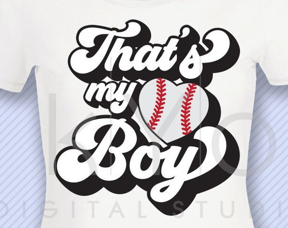 Thats my boy baseball svg Baseball t shirt svg png dxf studio3 files for Cricut Silhouette iron on svg htv heat transfer design svg