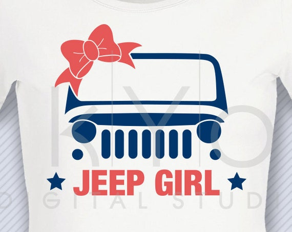 Jeep Girl svg png dxf Jeep Wrangler svg Off road svg 4x4 svg Jeep bow svg files svg files for Cricut Design space Silhouette cut files