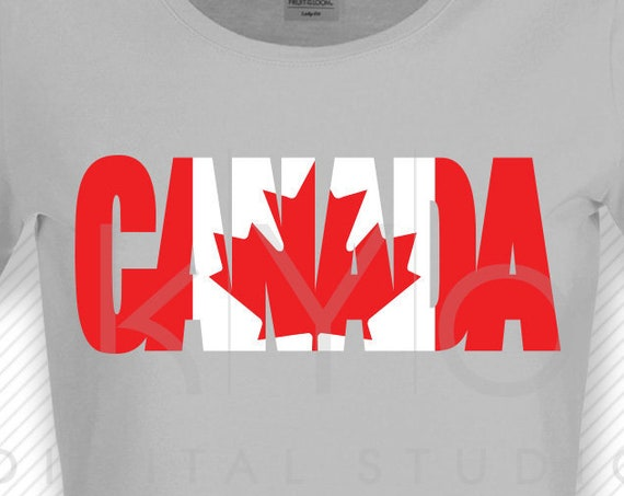 Canada Day svg Canada flag svg Maple Leaf svg Canada Shirt design svg files for Cricut Silhouette DXF files PNG Clipart EPS