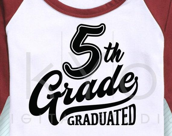 5th grade svg fifth grade svg 5th grade clip art school graduation svg 5th grade nailed it svg files for cricut silhouette files