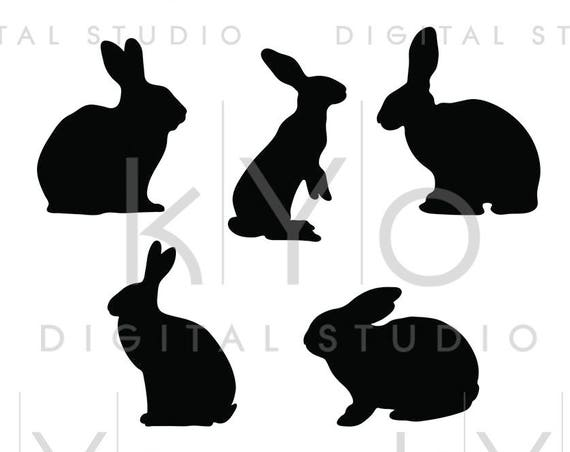 Bunny Svg Rabbit svg Easter bunny Svg Animal Silhouettes SVG PNG Studio3 dxf Love svg Easter bunny silhouette Commercial use svg for cricut