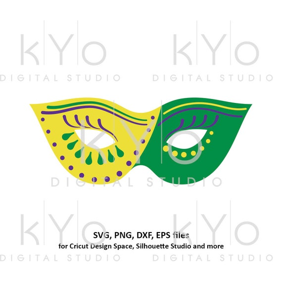 Mardi Gras Carnival mask svg Eye mask template svg Eye cover svg Mardi gras parade mask svg files for Cricut Silhouette Cameo files