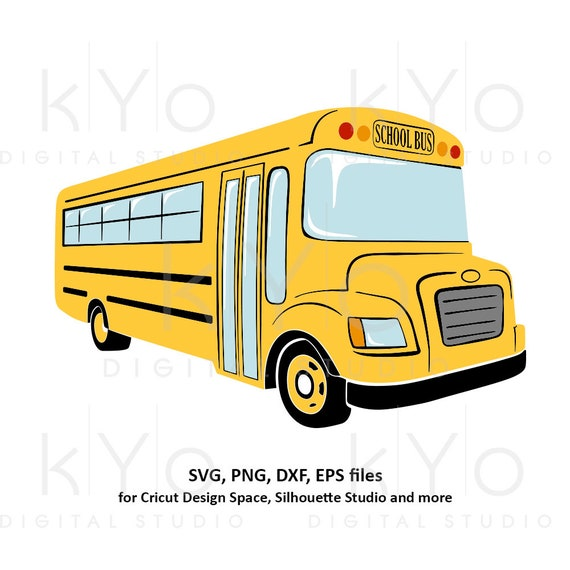 Yellow School bus svg Back to school svg 1st day at school svg png dxf eps files school shirt svg files for Cricut Silhouette cut files