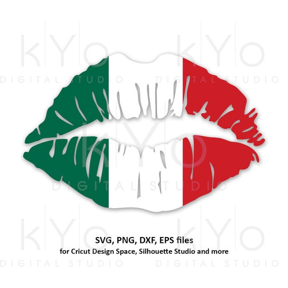 Mexican Girl Lips svg Mexico Country Flag svg png dxf eps Clipart Vector Cut Cutting files for Cricut Silhouette