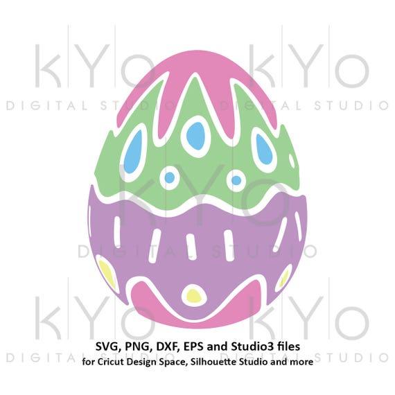 Easter Egg SVG Easter SVG cut files for Cricut Explore Silhouette Cameo Patterned egg svg