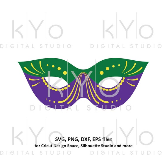 Mardi Gras mask svg Carnival mask svg Mask template svg Eye cover svg Mardi gras parade mask svg files for Cricut Silhouette Cameo files