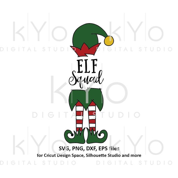 Christmas Elf squad svg files for Cricut and Silhouette