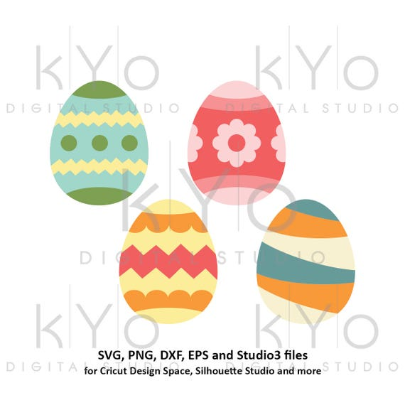 Easter Egg SVG files Happy Easter svg files for Cricut Explore Silhouette Cameo Easter bunny svg easter decorations
