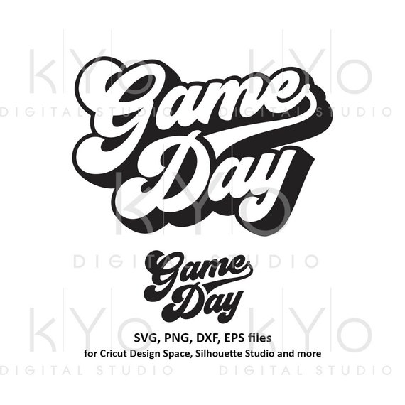 Game day svg Football svg College Gameday svg Sport svg Football mom svg files for Cricut DesignSpace Silhouette Studio dxf png iron on svg