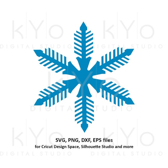 Snowflake svg Winter svg Merry Christmas svg Christmas party svg Merry Christmas card svg files for Cricut and Silhouette dxf files