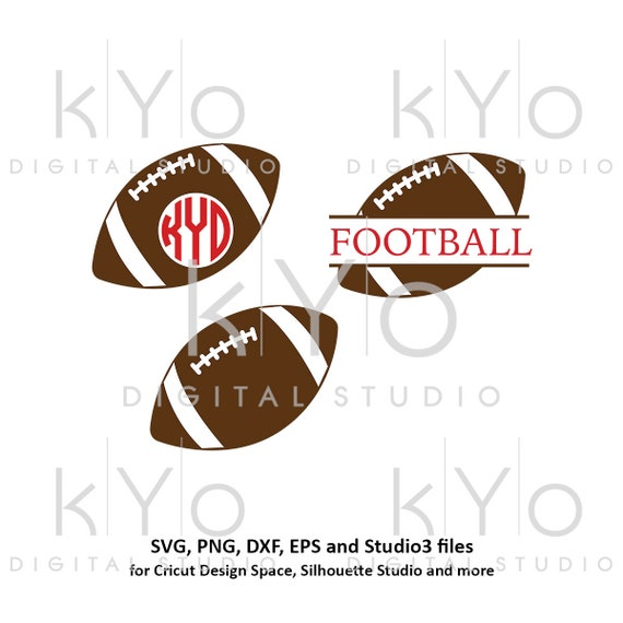 American Football svg Split Monogram svg Football monogram svg Football Love svg Football Mom svg files for Cricut Silhouette football dxf
