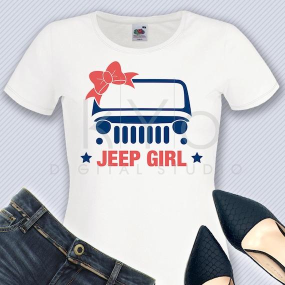 Jeep Girl Svg Png Dxf Jeep Wrangler Svg Off Road Svg 4x4 Svg Etsy