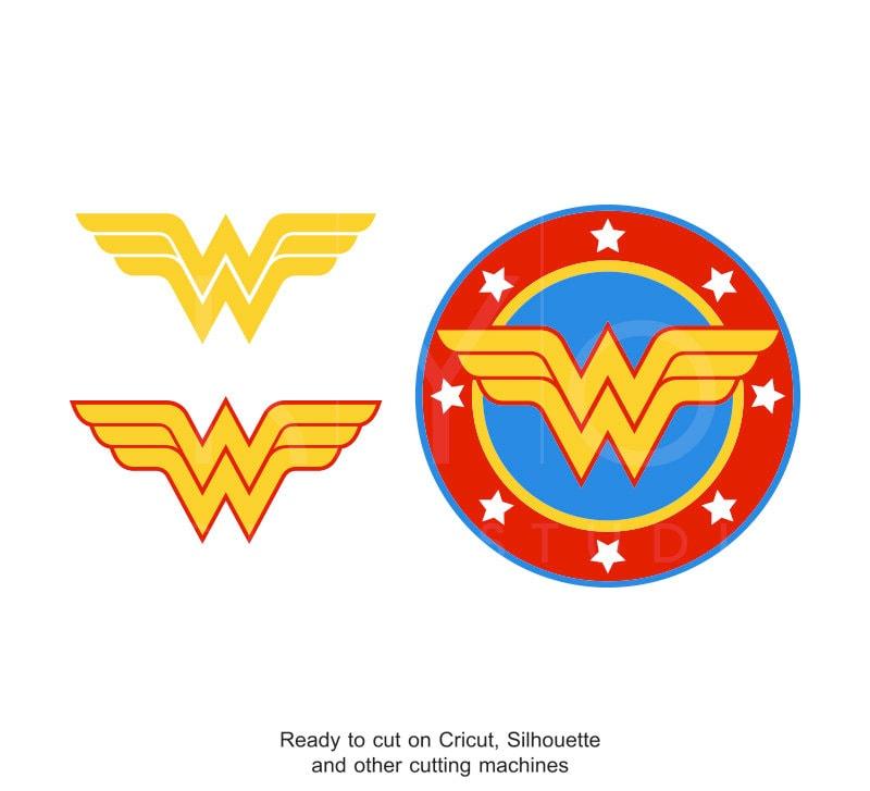 Wonder Woman Svg Superhero Svg Wonder Woman Sign Wonder Etsy