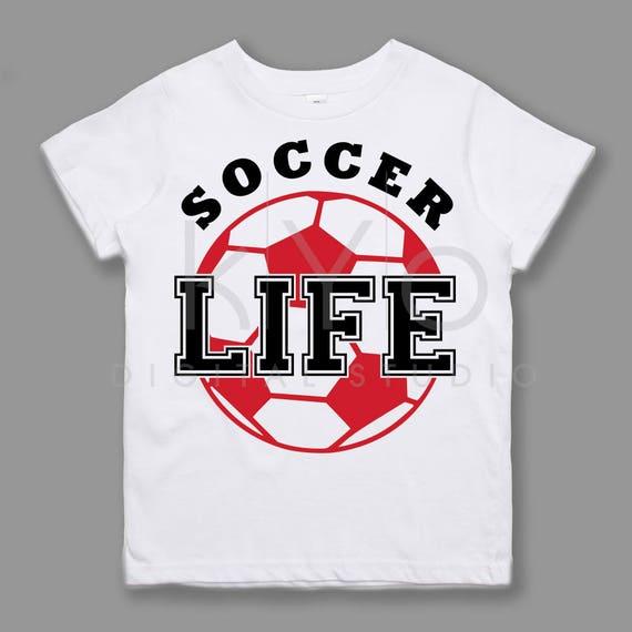 Soccer SVG Soccer Life svg Soccer Mom svg NSL League Sport svg files for Cricut Silhouette files Kids tshirt design svg Love svg