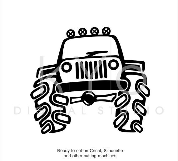 Drawing Jeep Off Road Logo