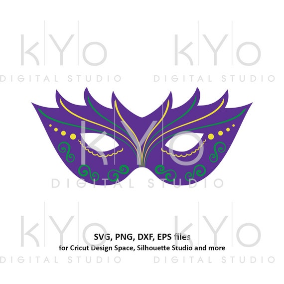 Mardi Gras svg Carnival mask svg Mask template svg Eye cover svg Mardi gras parade mask svg files for Cricut Silhouette Cameo files