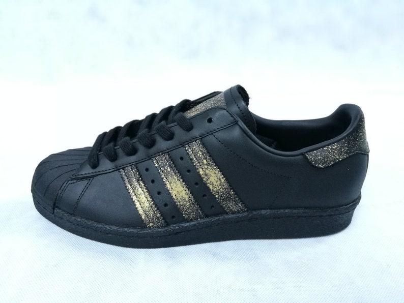 235fdced88 Adidas Superstar Winter Edition Custom 24K