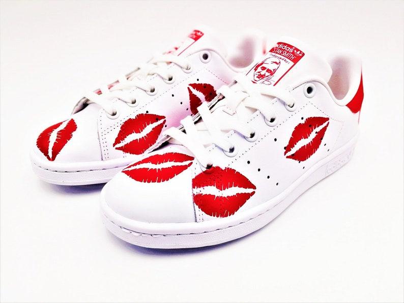 d823ba538d Adidas Stan Smith Kiss Custom
