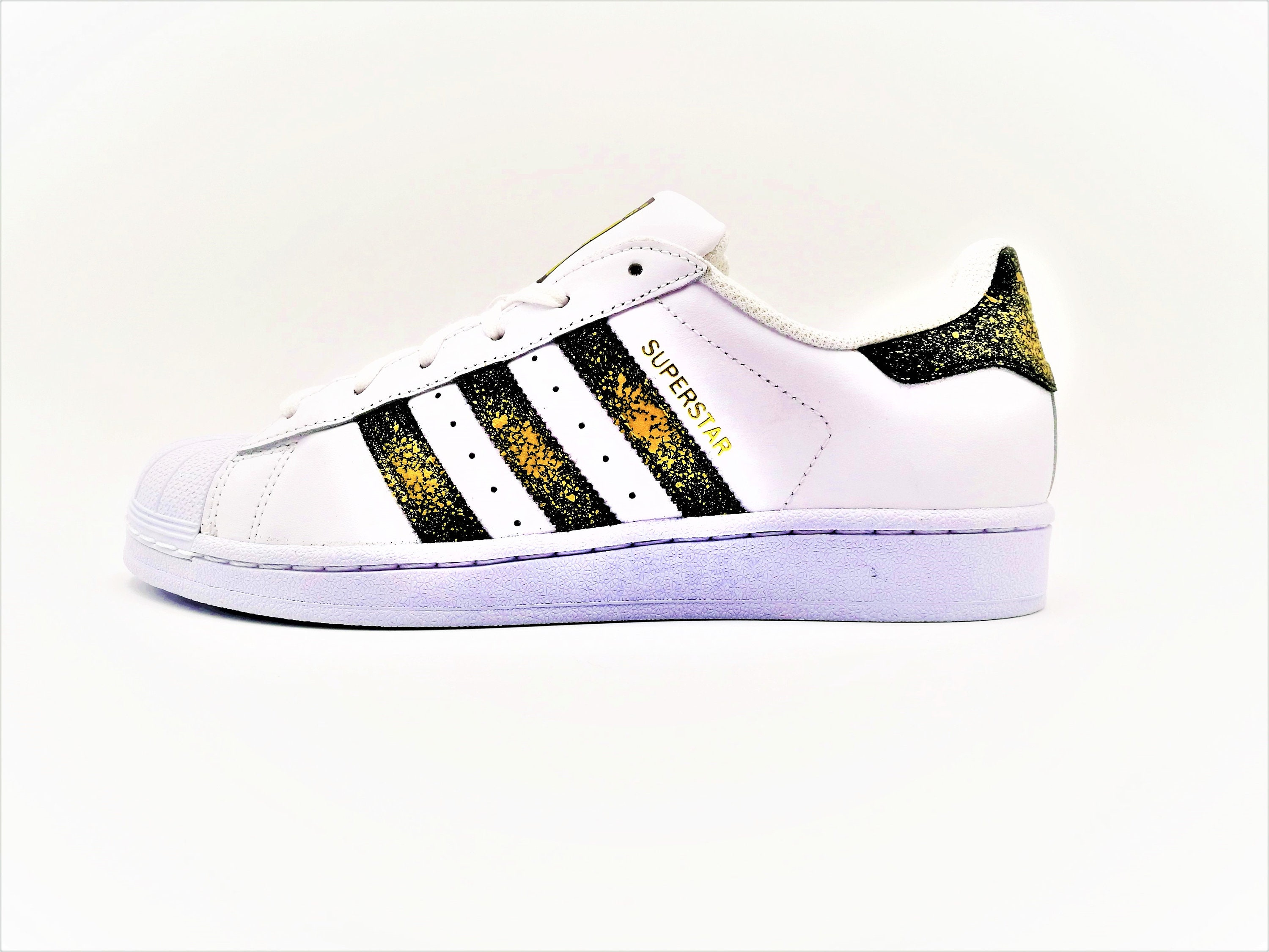 Adidas Superstar Color Splash by Double G Customs