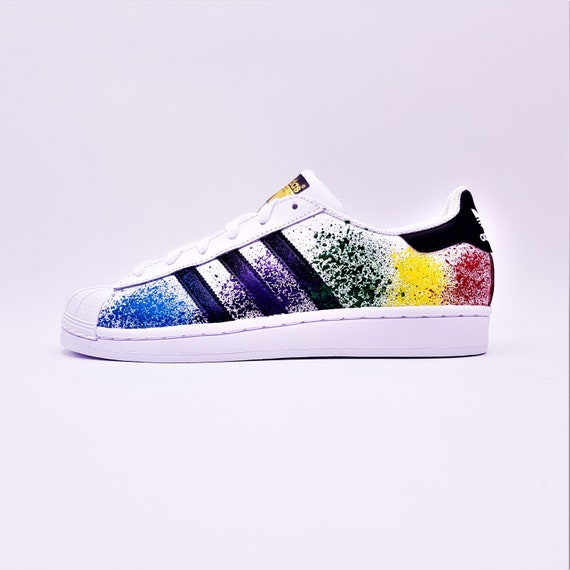 Adidas Paint Splattered Superstars~Review!