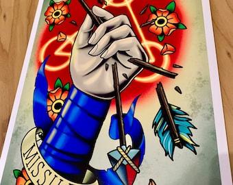 Beauregard Lionette - Critical Role (Mighty Nein) - Art Print