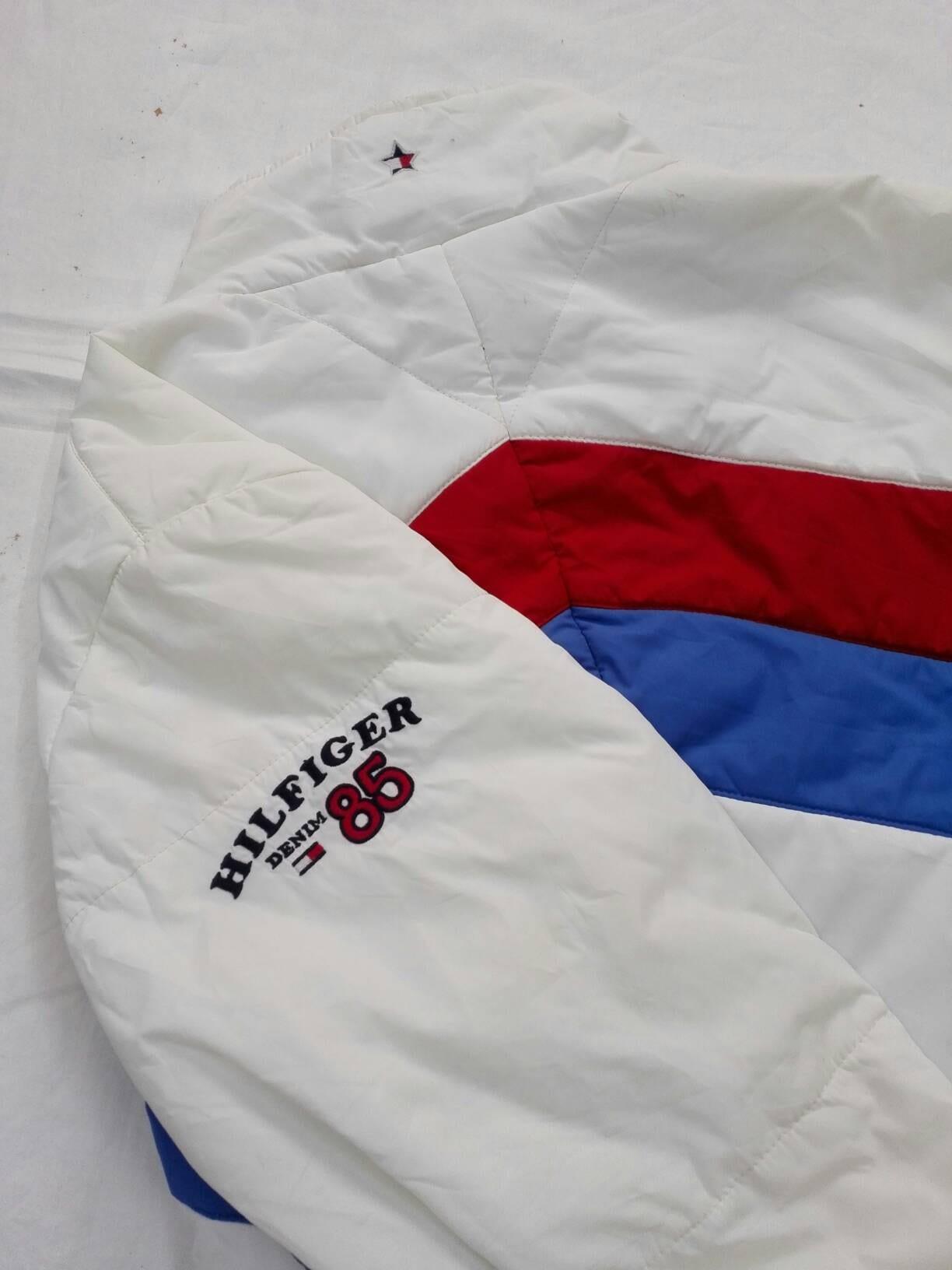 5195e675 Sale Vintage Tommy Hilfiger Down Jacket Polo Sport Size | Etsy