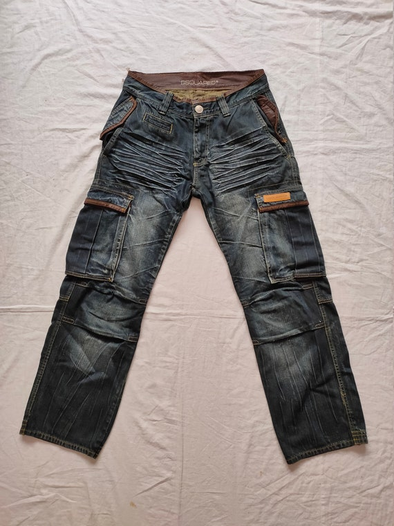 Rare!! Dsquared2 Cargo Jeans Size 32