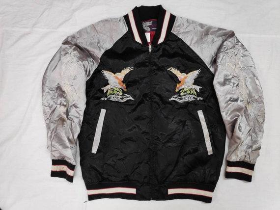 Sale!! Vintage Sukajan Japan Eagle Embroidery Size
