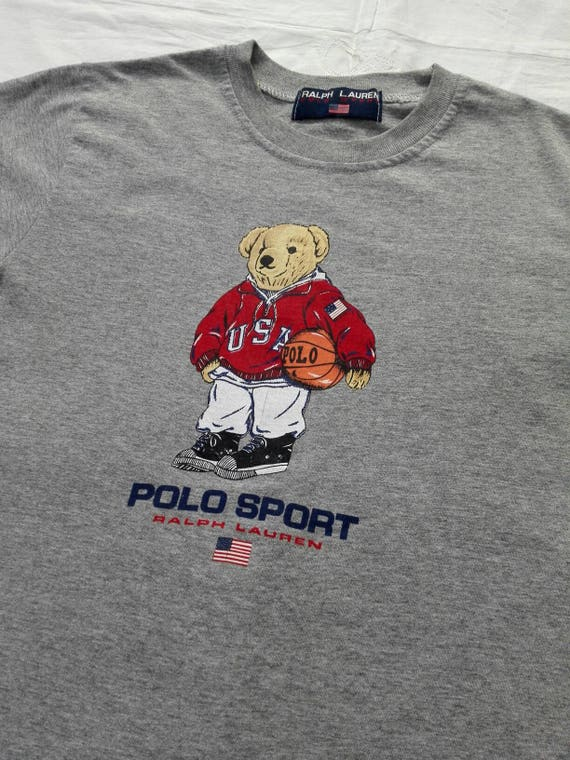 Sale!! Vintage 90s Polo Bear Polo Sport Ralph Laur