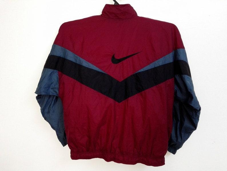 f3aef5fee557 Sale Vintage Nike Swoosh Windbreaker Jacket Size XLarge
