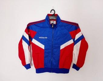 Sale!! Vintage Adidas Windbreaker Jacket Size Large